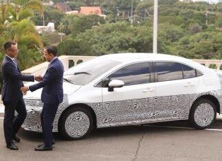Novo Corolla feito no Brasil será o primeiro veículo híbrido flex do mundo