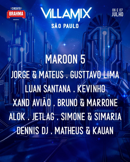 Jorge & Mateus, Gusttavo Lima, Luan Santana, Kevinho, Xand Avião, Bruno & Marrone, Alok, JetLag, Simone & Simaria, Denis DJ, Matheus & Kauan, Villa Mix, tickets for fun, autodrómo de interlagos